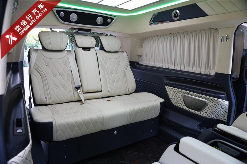 湖南 湘潭 奔馳V260房車報價 V級改裝商務車工廠直銷 最高直降20萬