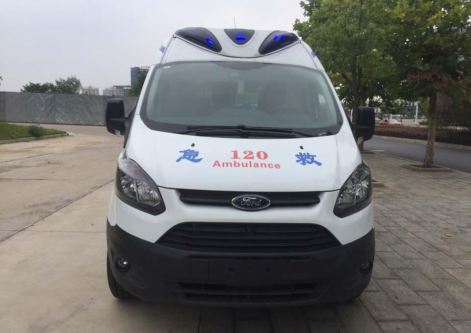 國六福特V362自動檔救護車價格_報價_廠家