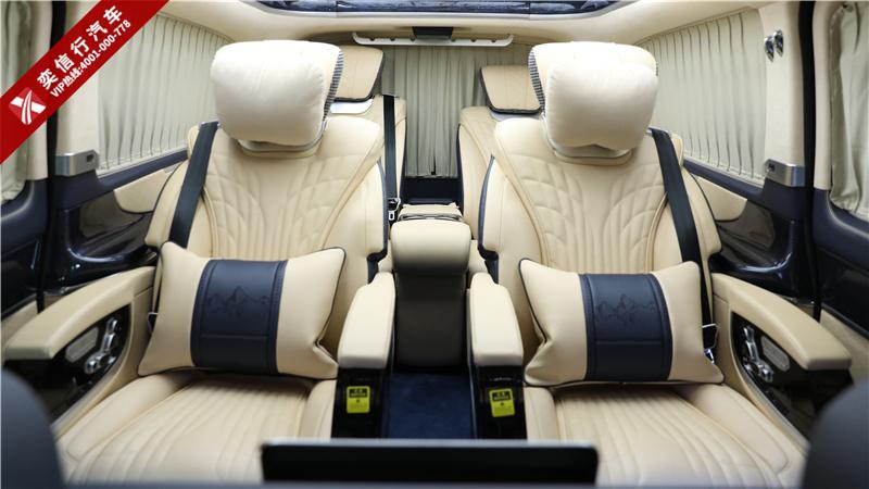 领袖巅峰版 虽然不加价,排队也值得!奔驰7座商务车 V260改装房车,彰显身份的好车