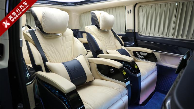 奔驰房车加配不加价 2020奔驰V260七座改装房车 台州最高优惠10万
