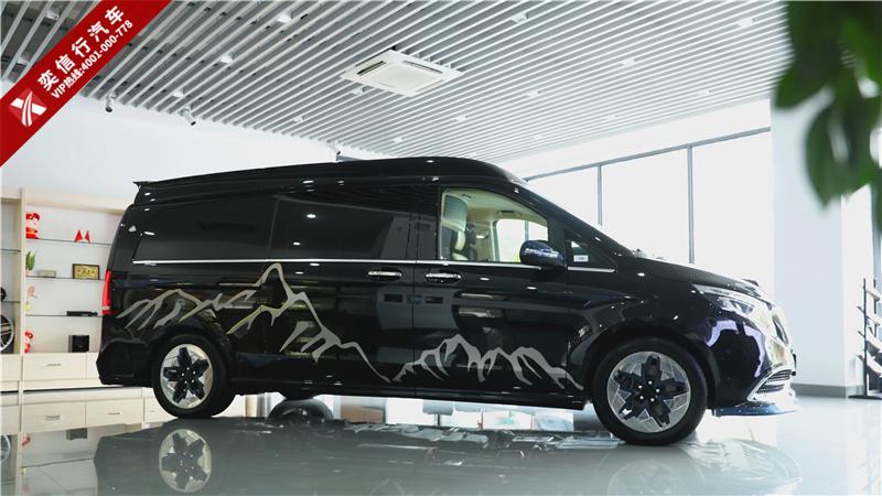 最具奢华风格奔驰V级改装商务房车 普曼巅峰版最 碳纤维手工绘制,工艺 设计 精彩无比