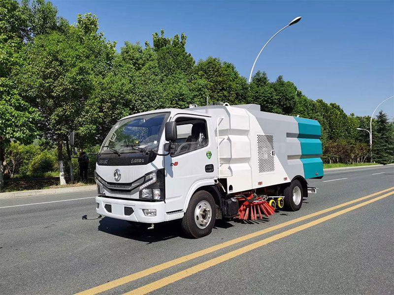 5吨东风国六洗扫车报价