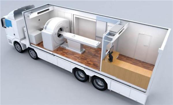 移动方舱CT车_移动PR实险室_核酸检测车