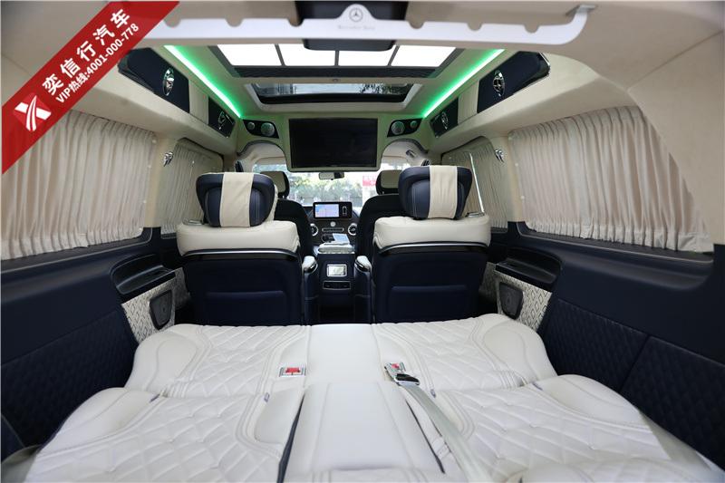 杭州 2020新奔驰威霆改装多少报价?7座奔驰商务车内饰升级多少钱?
