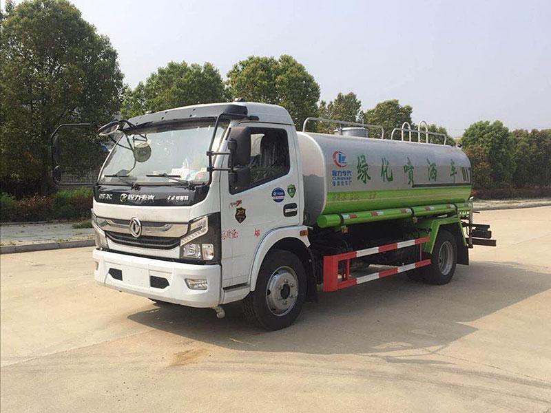 国六东风K7凯普特9吨洒水车厂家配置说明