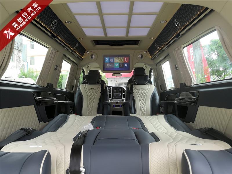 2020新款奔驰商务车 威霆7座改装房车 杭州本博车展 工厂直销优惠