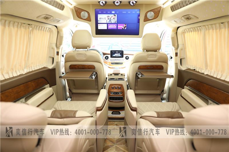 20新款奔驰V260L房车到店 7座定制版商务车杭州西博车展优惠报价