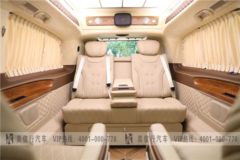 嘉兴 湖州2020款奔驰V260L房车到店 威霆商务车定制改装 优惠报价