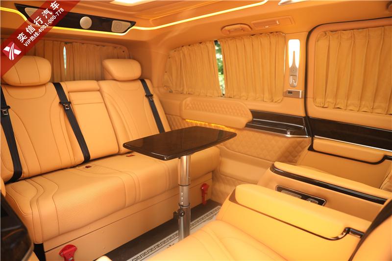 奔驰V级房车 V260升级商务车 杭州西博车展最新报价 预存5千抵5万