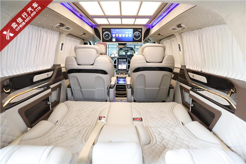 杭州2020款7座奔驰商务车 V260房车威霆改装MPV 全场最低优惠5万