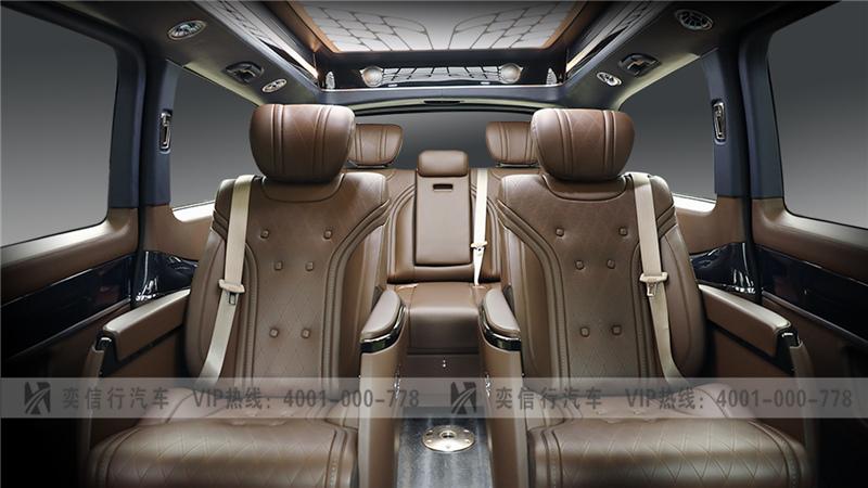 温州 奔驰V260房车国庆优惠报价价格?改装车比V级内饰有什么不同?