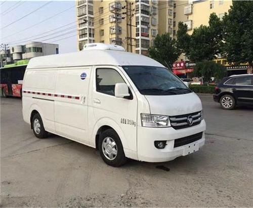 国六福田G7药品面包冷藏车_疫苗运输冷藏车厂家_价格_配置_图片