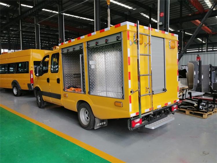 依维柯救险车_依维柯工程救险车厂家_国六应急抢险救援车厂家配置