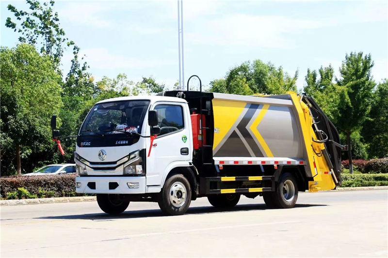 国六东风小多利卡D6压缩式垃圾车厂家_图片_价格_视频