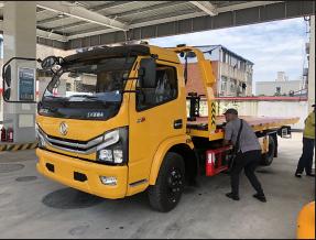東風重載新款大多利卡D8型一拖二拖車
