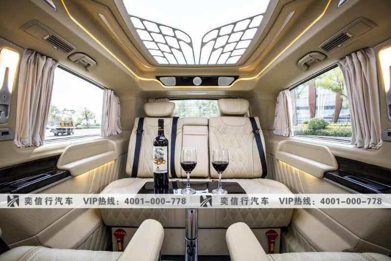 商務車年底行情 杭州奔馳V260改裝房車專屬定制 曼巴赫風格報價
