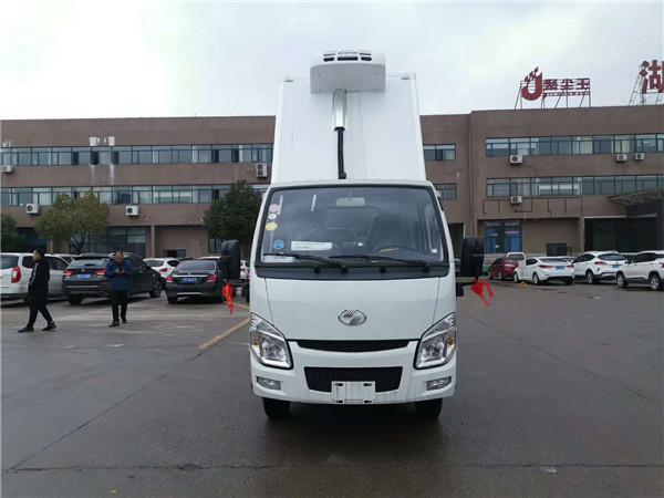 福田冷藏车报价及图片 小型2.6米冷藏车价格