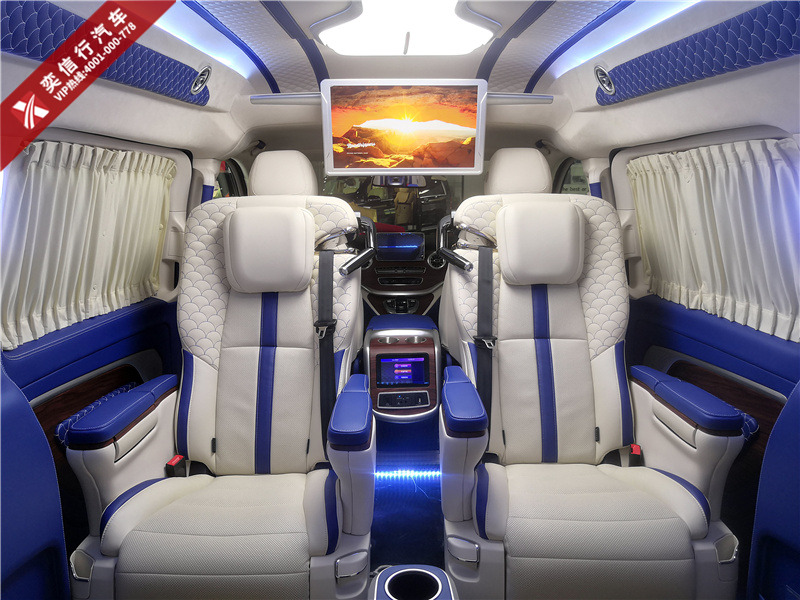 2020新款6座奔驰V级商务车 铂驰房车维努斯V260定制房车 工厂报价