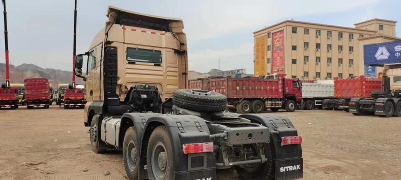 SITRAK G7 牽引車 540馬力帶液緩