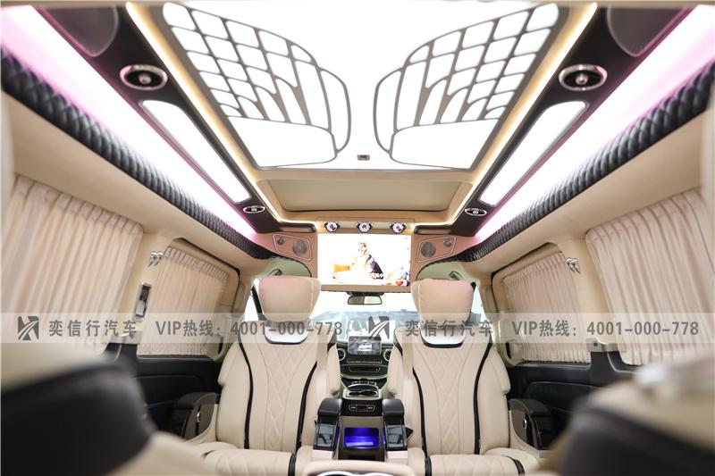 房车行情 双11促销 奔驰V260商务车高顶改装房车 工厂店优惠8万起
