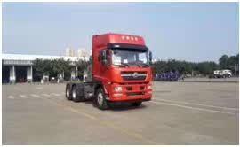 斯太尔天然气牵引车440马力国六