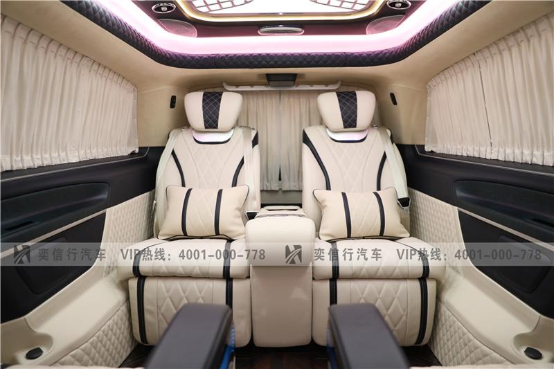 商务车行情快报 奔驰V级改装商务车报价 7座奔驰V260高顶工厂直销
