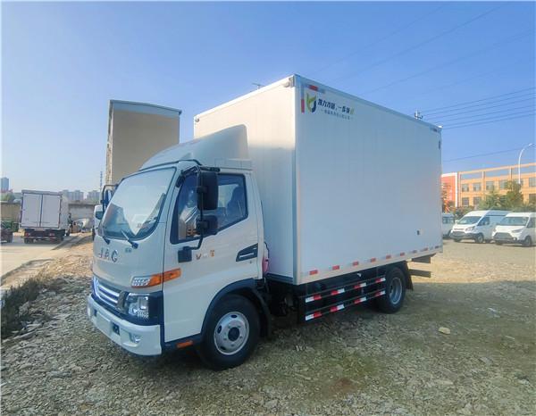 江淮骏铃v5冷藏车价格-骏铃v5冷藏车价格