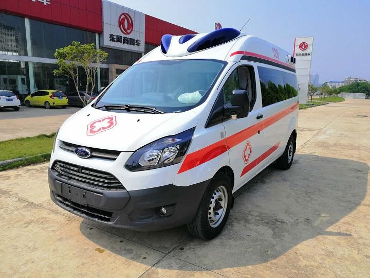 疫情儲備救護車首選-福特V362救護車 高端救護車生產廠家
