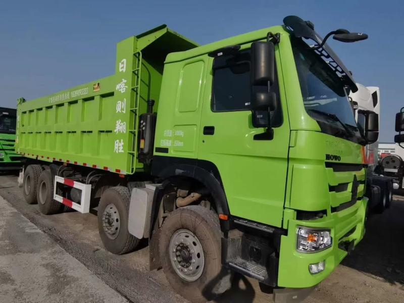 HOWO 7 自卸车 8X4法规车6.8米