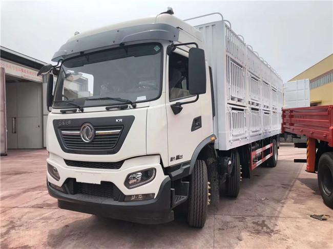 大型畜禽运输车品牌 东风猪苗车程力专卖