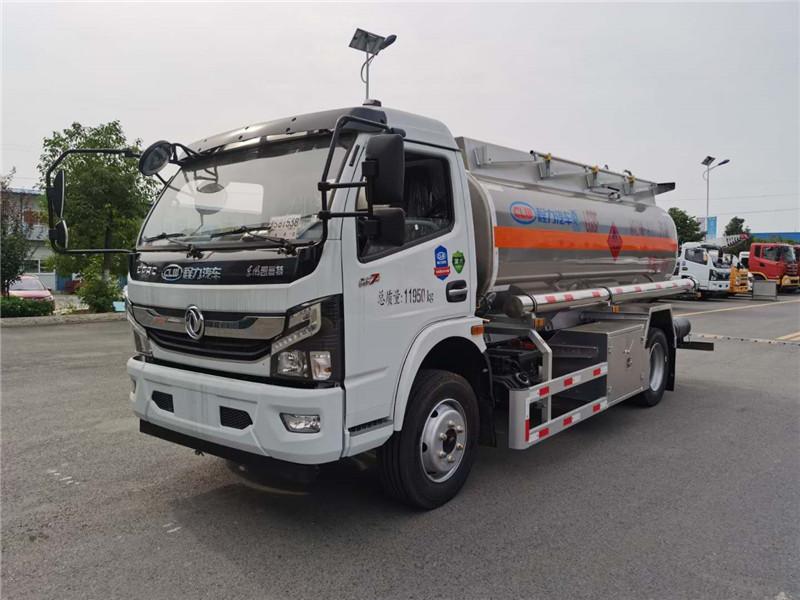 国六东风大多利卡8.5方铝合金加油车配置/图片/价格