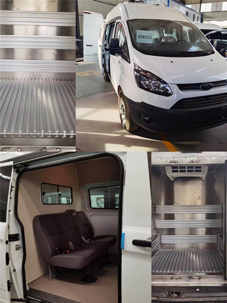 福特小型疫苗冷藏運輸車圖片_雙排、單排醫藥疫苗冷鏈運輸車廠家品牌齊全