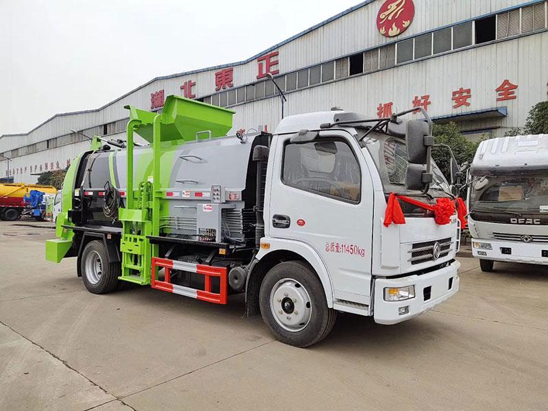 东风多利卡D7  5吨餐厨垃圾车厂家_价格