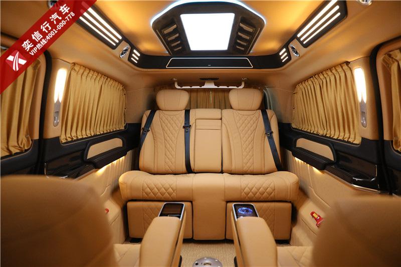 空间大 载客多的商务车推荐 7座奔驰V260房车改装工厂店直销报价