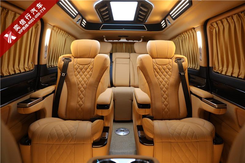 2020款奔驰V260房车最高降20万,宁波 高端商务车定制中心优惠报价