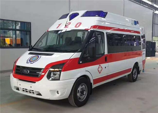 福特救护车价格 负压急救车报价 长轴中顶救护车厂家促销直降5000