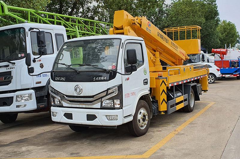 国六东风多利卡18米直臂高空作业车底盘配置及优势