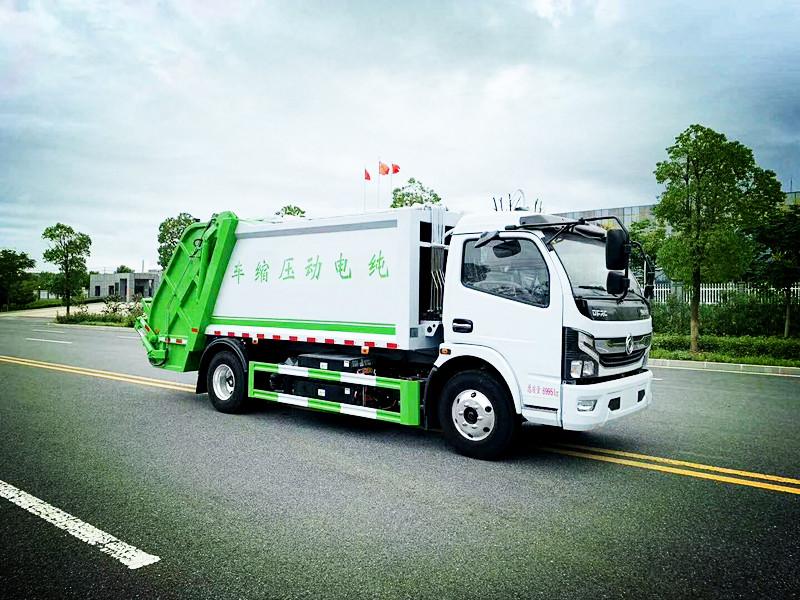 纯电动压缩垃圾车,新能源电动压缩垃圾车厂家,报价