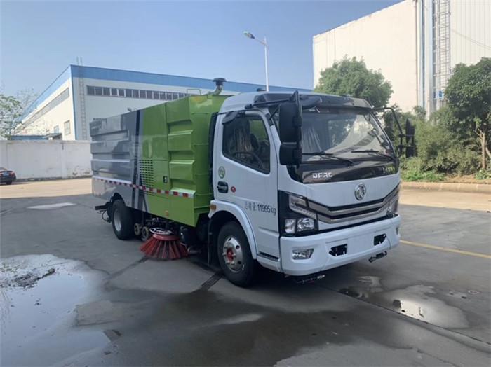 国六8方洗扫车_东风多利卡洗扫车价格厂家参数