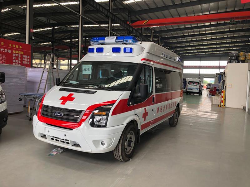福特医用救护车,用专业铸就精品