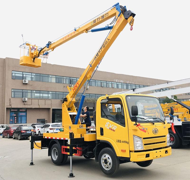 国六解放虎VR 12-13.5米高空作业车配置_12米高空作业车厂家_13米高空作业车价格多少钱