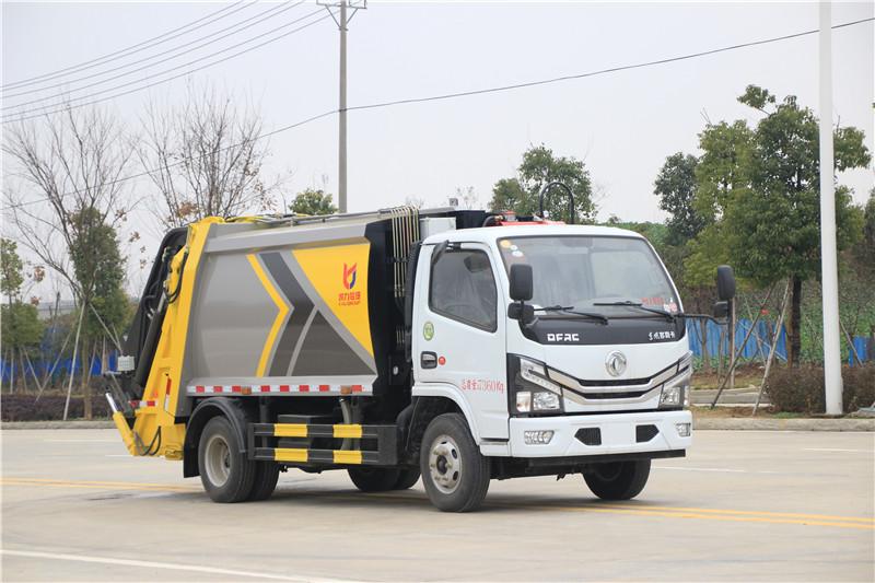 国六东风小多利卡6方压缩垃圾车价格