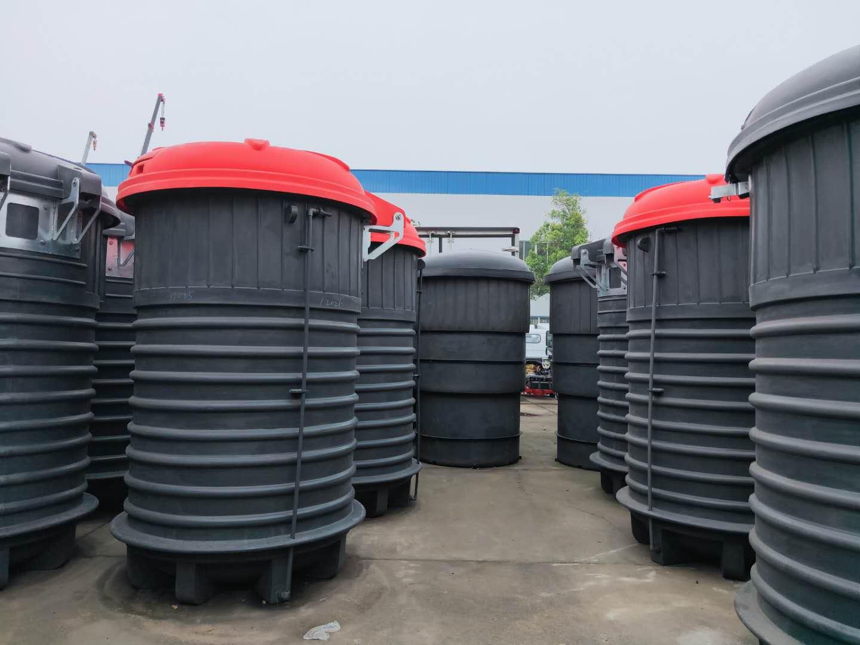 深埋式垃圾桶 一样是垃圾桶 为什么就是与众不同