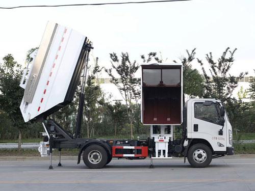 分類自裝卸式垃圾車的價格_照片_參數_新型垃圾分類車的廠家