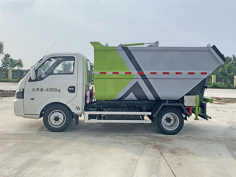 纯电动自卸垃圾车的详细介绍_参数_价格_照片_纯电动无泄漏垃圾车的厂家