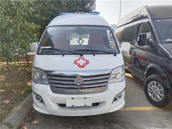 120负压救护车价格-金旅转运型救护车厂家批发多少钱