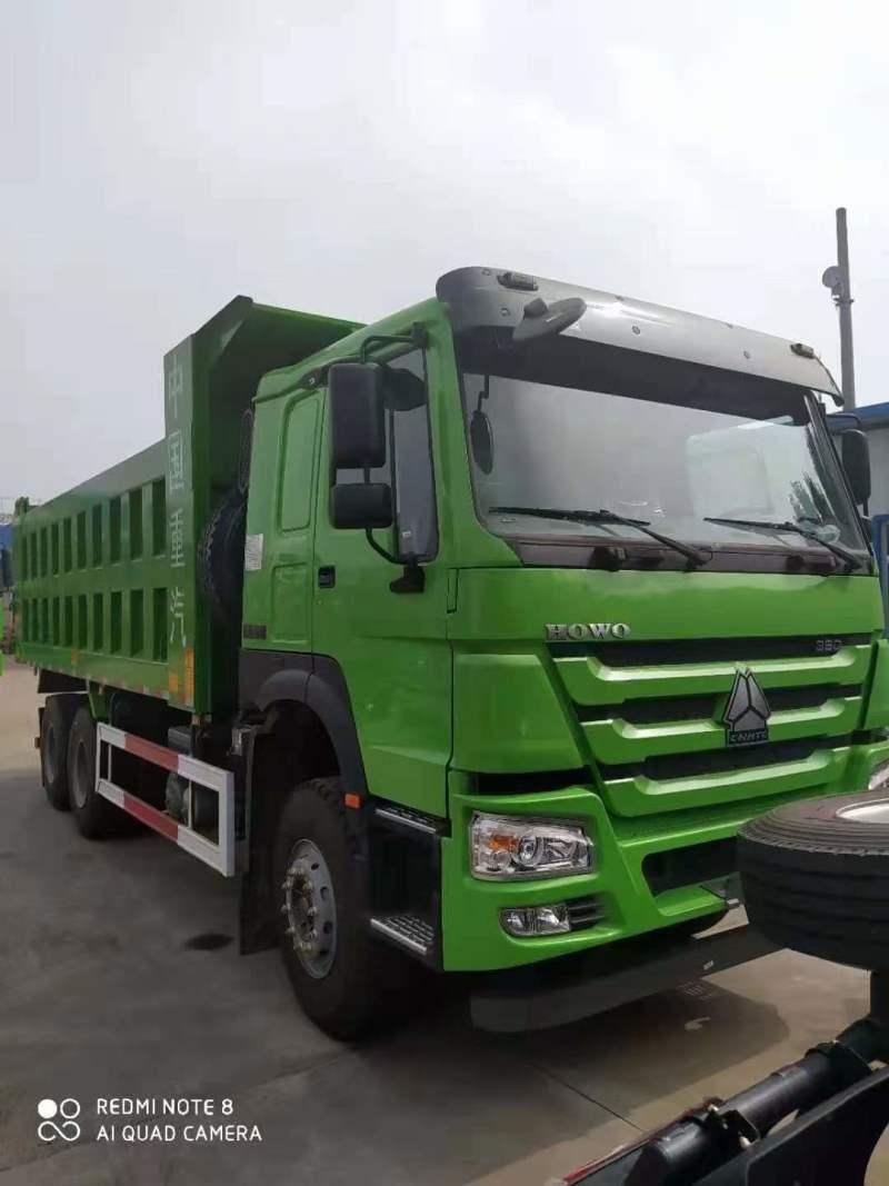 中国重汽6.3米豪沃自卸车
