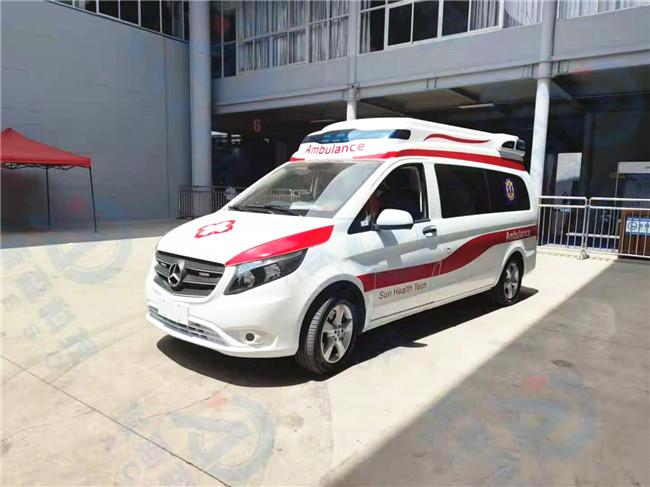 程力高端救護車廠家 新款福特救護車V362長軸柴油版批發商報價