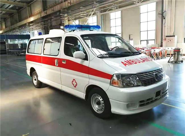 金杯新快运救护车多少钱,转运型急救车国标配置
