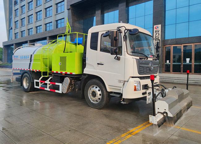 东风天锦国六10方路面冲洗车/多功能高压清洗车在哪买?